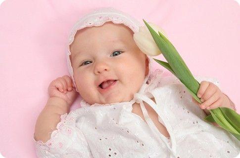 фото новорожденной девочки