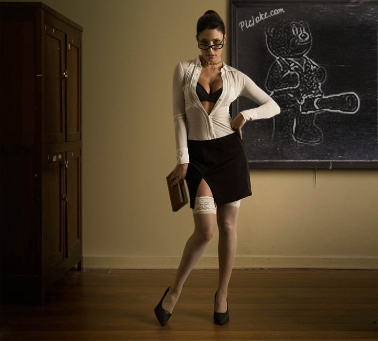 Секси фото училка